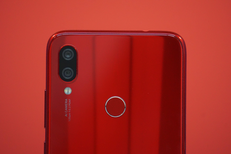 Redmi Note 7 Camera And Fingerprint Sensor