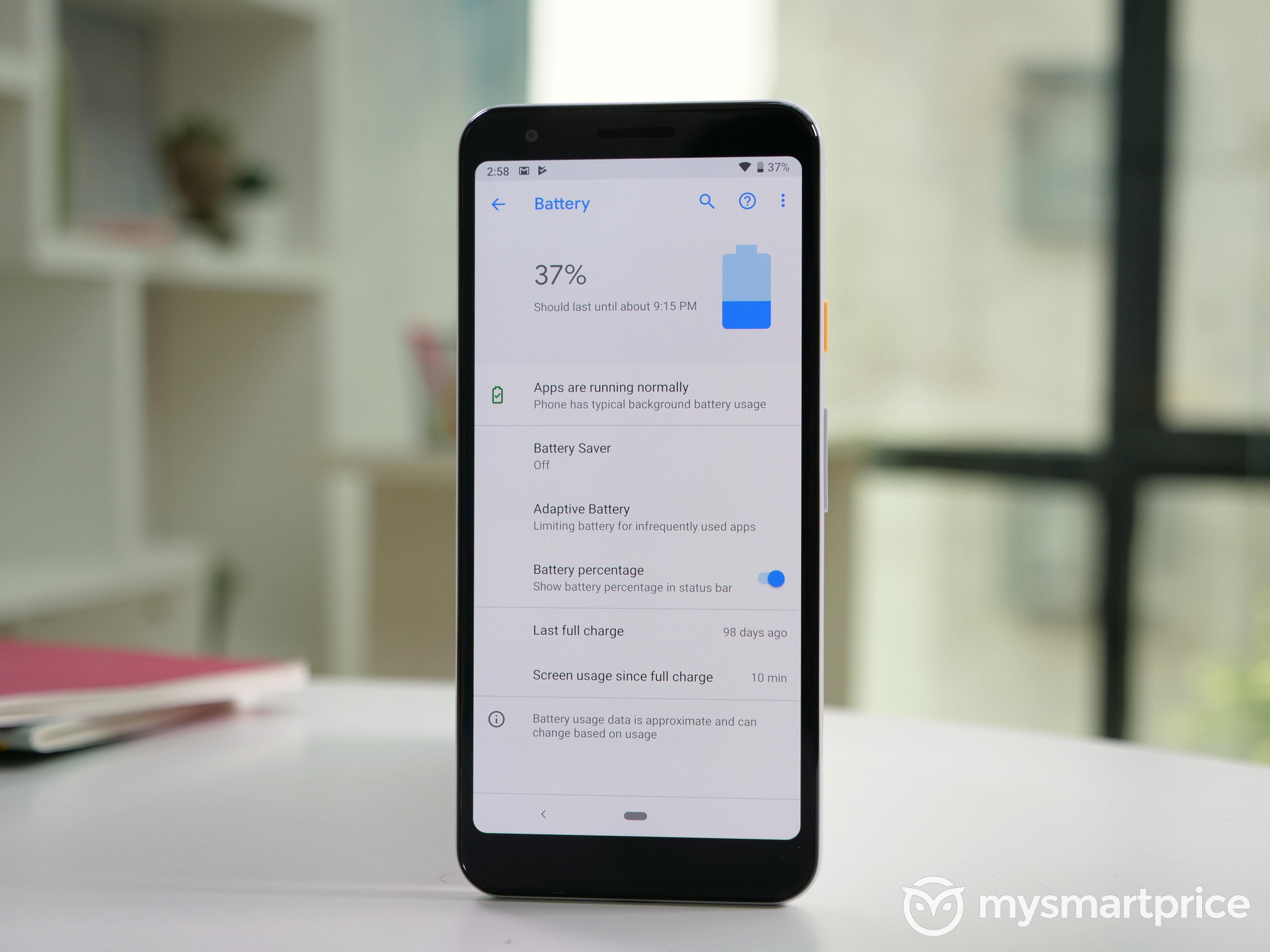 Google Pixel 3a Battery