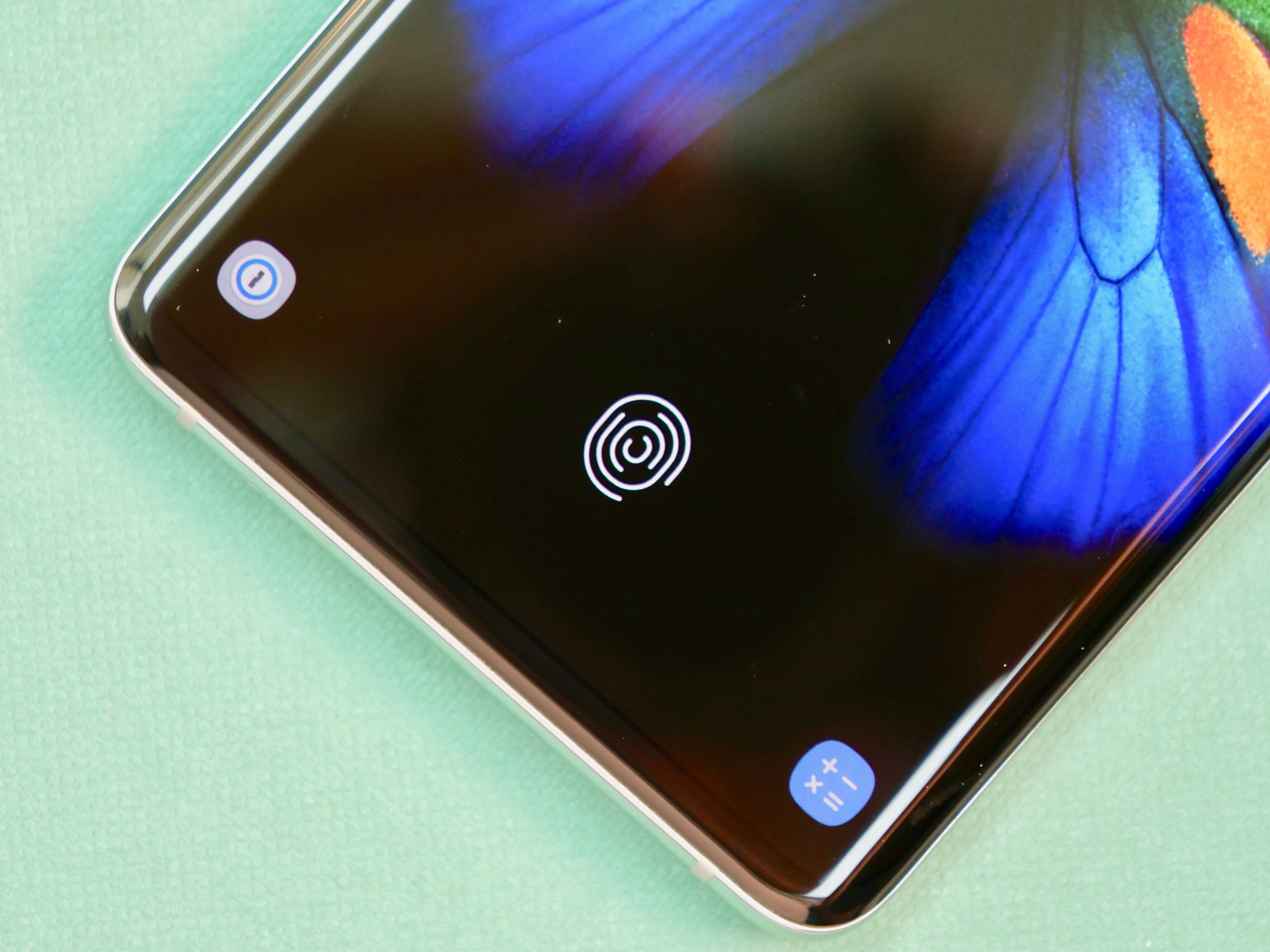 Samsung Galaxy S10+ 3D Sonic Fingerprint Reader
