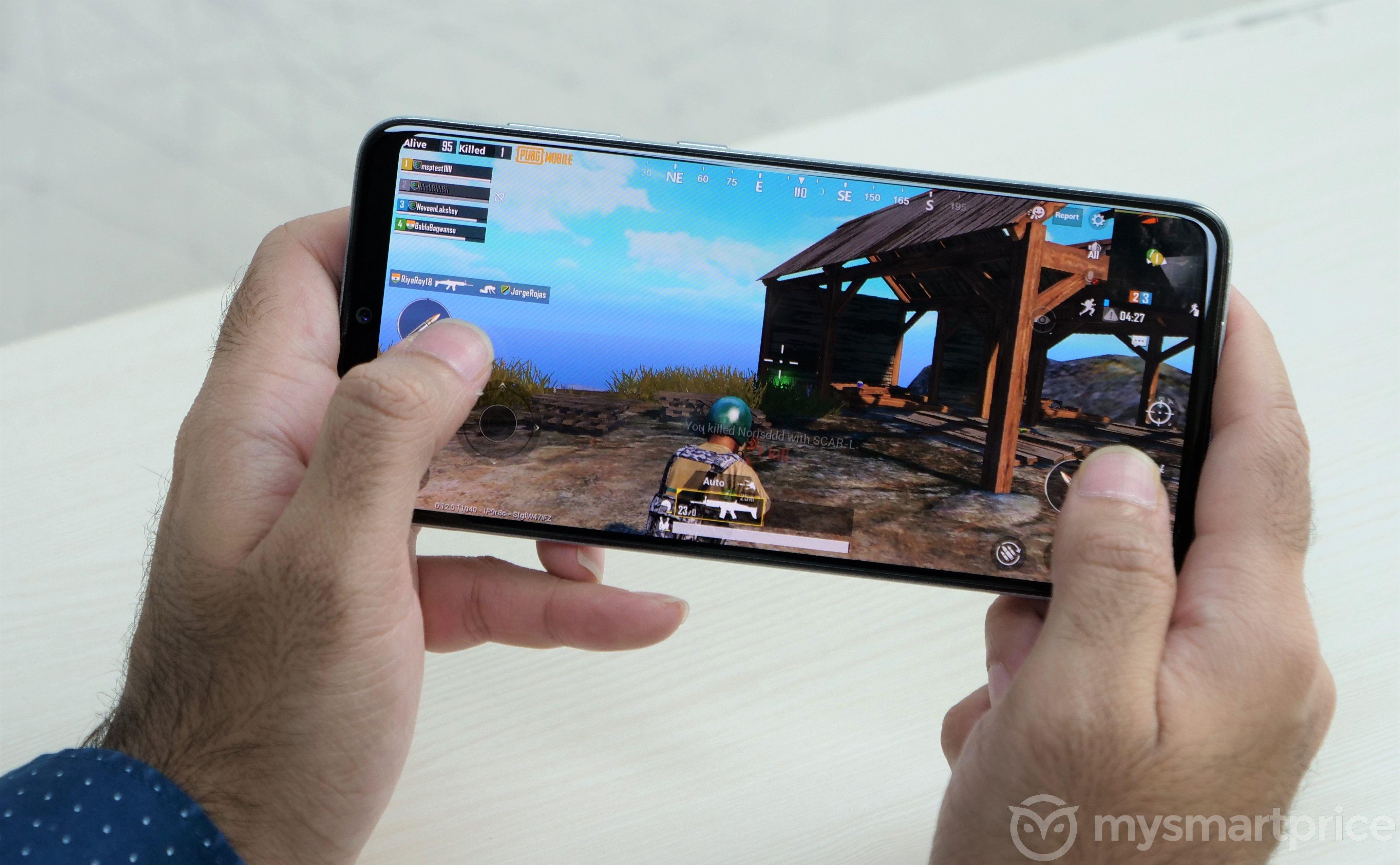 Samsung Galaxy A70 PUBG