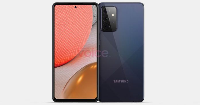 Samsung Galaxy A72 5G renders reveal it is an enlarged A52 5G