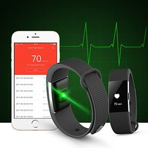 28a651fa180 Bingo F2 Heart Rate Bluetooth Smart Fitness Band Price in India ...