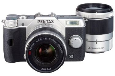 Pentax Q10 (With 5-15mm + 15-45mm Lens) Price in India