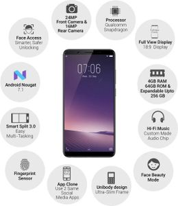 Vivo V7 Plus Price In India Full Specification Features 17th May