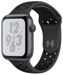 Apple Watch Series 4 Nike Plus GPS Space Grey Aluminium Case with Anthracite Black Nike Sport Band 44mm Price in India