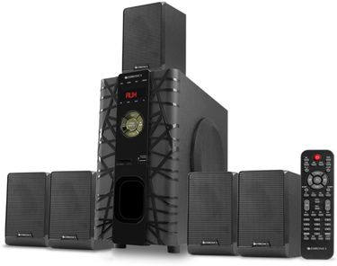 Zebronics SWT6590 5.1 Channel Multimedia Speaker Price in India