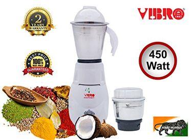 Vibro Kitchen Prestige-22 450 W Mixer Grinder Price in India