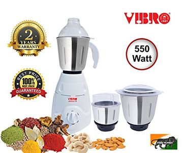 Vibro Kitchen Mate-99 550W Mixer Grinder Price in India