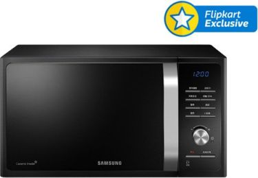 Samsung MG23F301TAK 23L SOLO MICROWAVE OVEN Price in India