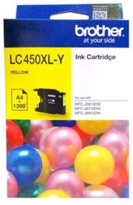 Brother LC450 XL Yellow Ink Cartridge Price in India