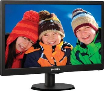 Philips 193V5LSB23 18.5 Inch LED Backlit LCD Monitor Price in India