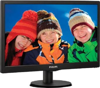 Philips 223V5LSB 21.5 Inch LED Backlit LCD Monitor Price in India