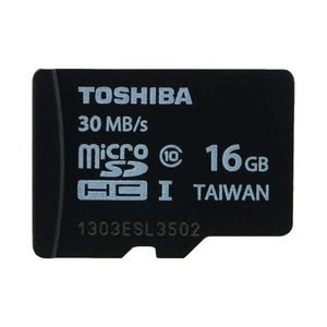 Toshiba 16GB MicroSDHC Class10 (30MB/s) Memory Card Price in India