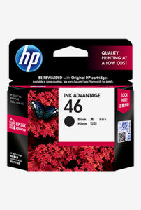 HP 46 Black Ink Cartridge Price in India