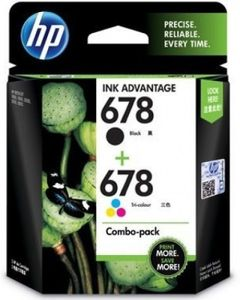 HP 678 Combo Ink Cartridges Price in India