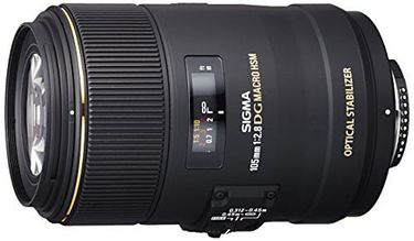 Sigma 105 mm F2.8 EX DG OS HSM Lens (For Nikon) Price in India