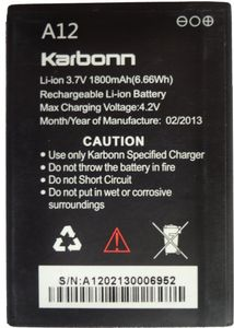 Karbonn A12 Battery Price in India