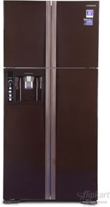 Hitachi BIG FRENCH R-W660PND3GBK/GGR 586Ltr Inverter French Door Refrigerator Price in India