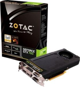 Zotac NVIDIA GeForce GTX 760 2GB Graphics Card Price in India