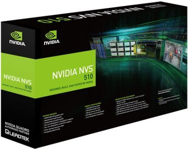 Leadtek NVIDIA Quadro NVS510 2 GB DDR3 Graphics Card Price in India