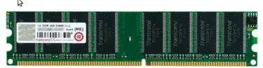 Transcend (JM388D643A-5L) 1GB PC RAM Price in India