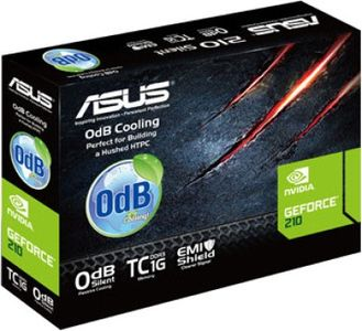 Asus NVIDIA GeForce EN210 Silent 1GB DDR3 Graphics Card Price in India