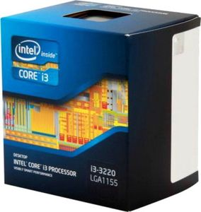 Intel 3.3 GHz LGA 1155 Core i3 3220 Processor Price in India