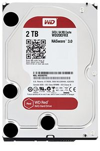WD Red NAS (WD20EFRX) 2TB Internal Hard Disk Price in India