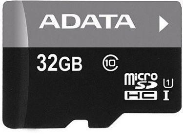 AData 32GB MicroSDHC Class 10 Memory Card Price in India