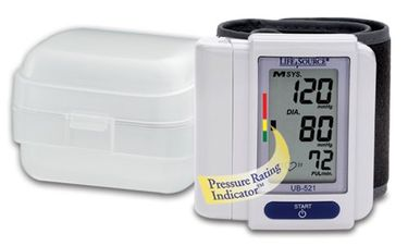 LifeSource UB-521 Digital Wrist Blood Pressure Monitor Price in India