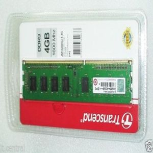 Transcend JetRam (JM1600KLH-4G) DDR3 4GB PC Ram Price in India