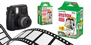Fujifilm Instax Mini8 Instant Camera (With 40 Film Exposures) Price in India