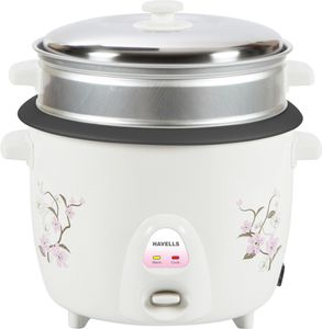 Havells Riso 1.8L 2 Bowl Electric Rice Cooker Price in India