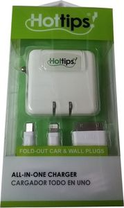 Hottips AIO charger (With micro/30pin/8pin) Price in India