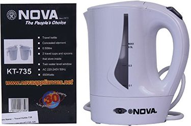 Nova KT-735 0.5 Litre Electric Kettle Price in India