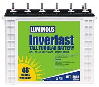 Luminous Inverterlast 18048 150AH Battery Price in India