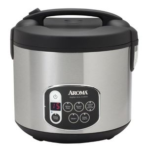Aroma ARC-1010SB Digital Rice Cooker and Food Steamer Price in India