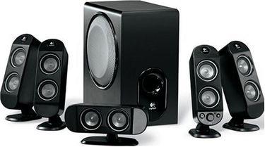 Logitech X-530 5.1 Speaker System Price in India