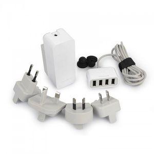 Capdase AD00-7P02 Porto V4 (World Plug) Quartet USB Power Adapter Price in India