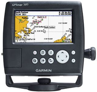 Garmin GPS Map 585 Marine GPS Navgation Device Price in India