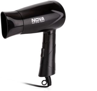 Nova NHP 8100 Silky Shine 1200 W Hot And Cold Foldable NHP 8100 Hair Dryer Price in India