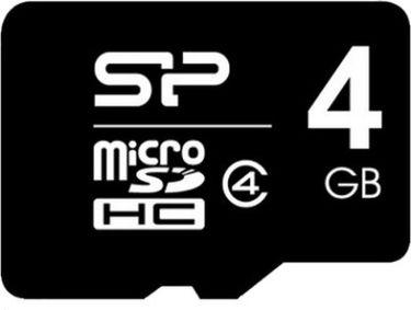 Silicon Power 4GB MicroSDHC Class 4 Memory Card Price in India