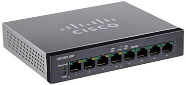 Cisco SG100D-08P-NA 8-Port Switch Price in India