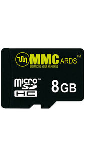 MMCards 8GB MicroSDHC Memory Card Price in India