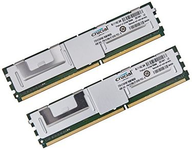Crucial (PC2-5300) 8GB(4GBx2) DDR2 RAM Price in India