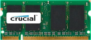 Crucial (CT25664AC667) PC2-5300 2GB SODIMM DDR2 Ram Price in India