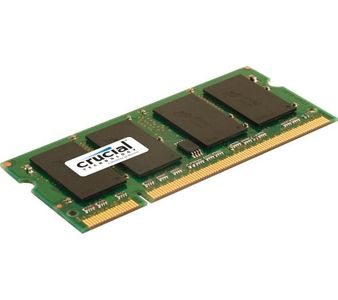Crucial (CT25664AC800) PC2-6400 2GB SODIMM DDR2 Ram Price in India