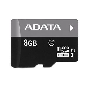 AData Premier 8GB MicroSDHC Class 10 UHS-1 Memory Card Price in India