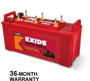 Exide 150AH New InstaBrite Battery Price in India