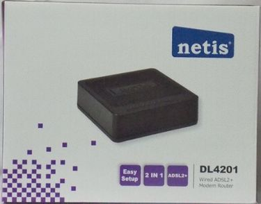 Netis DL4201 Adsl2 Router Price in India